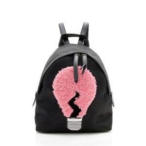 Fendi Black Light Bulb Mini Backpack